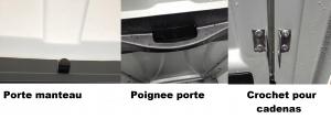 PORTE MANTEAU CROCHET POUR CADENAS